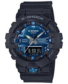 G-Shock Men's Analog-Digital Black Resin Strap Watch 54.1mm