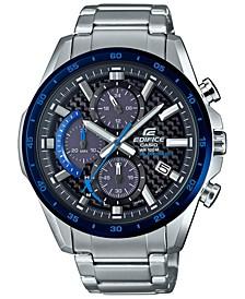 Men's Solar Chronograph Stainless Steel Bracelet Watch 47.6mm
