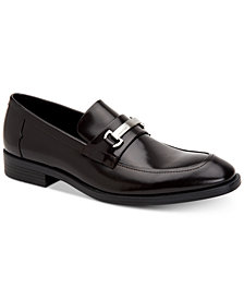 Calvin Klein Men's Craig Box Leather Loafers