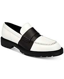 Men's Florentino Box Leather Loafers