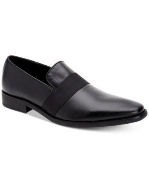 Calvin Klein MEN'S RIAN DIMPLED LOAFERS MEN'S SHOES