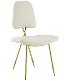 Modway Ponder Upholstered Velvet Dining Side Chair