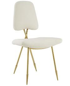 Ponder Upholstered Velvet Dining Side Chair