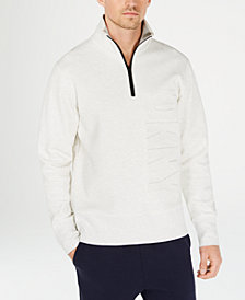 DKNY Men's Quarter-Zip Sweater