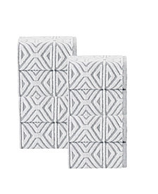 Enchante Home Glamour 8-Pc. Turkish Cotton Wash Towel Set