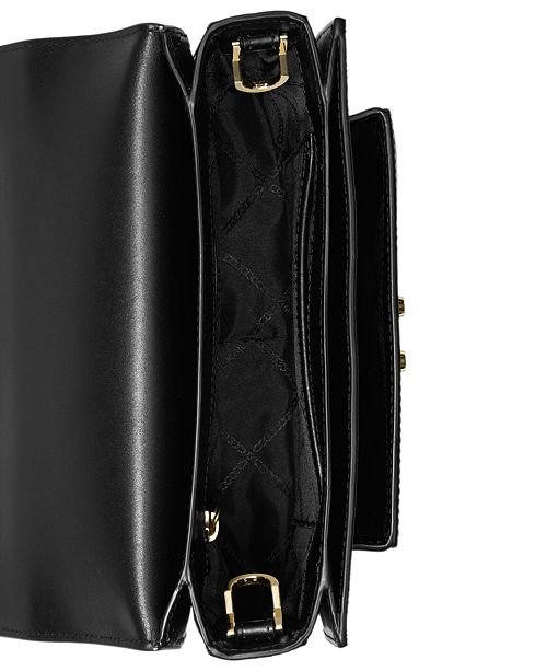 3b7be0428128 ... Michael Kors Sloan Editor Signature Colorblock Shoulder Bag ...