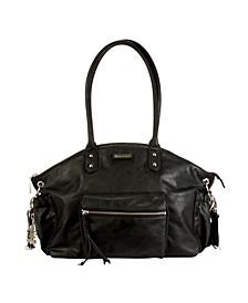 New York Vegan Leather Diaper Bag