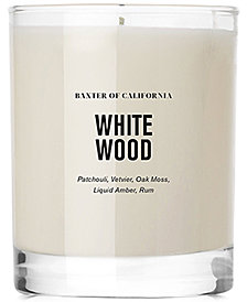 Baxter Of California White Wood Scented Candle, 6-oz.