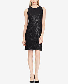 Lauren Ralph Lauren Sequin Sleeveless Dress