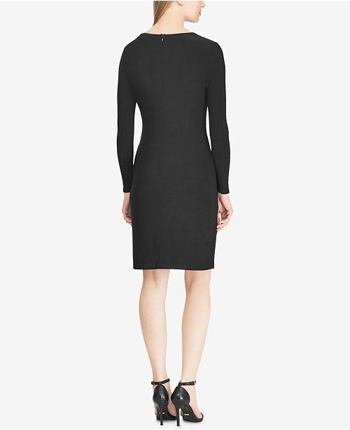 Macys Outlet Nj: Lauren Ralph Lauren Petite Sequin-Yoke Jersey Dress