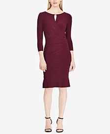 Lauren Ralph Lauren Keyhole Jersey Dress