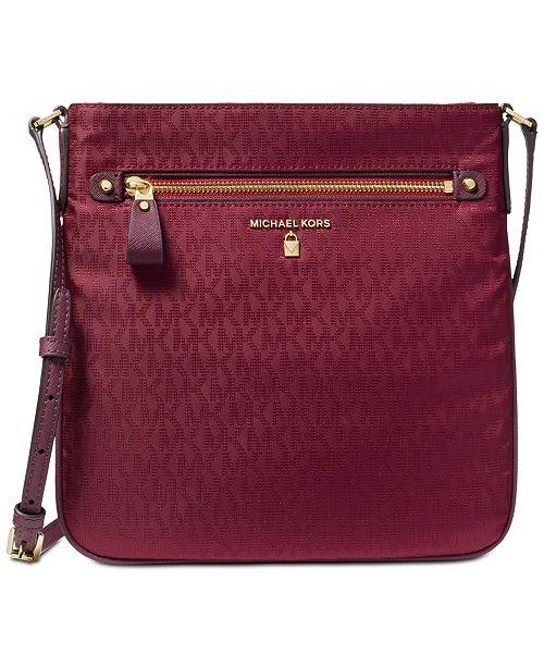 e7a74368d4d1 Michael Kors Kelsey Signature Crossbody - Handbags   Accessories ...