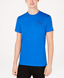 Calvin Klein Men's Ribbon-Print Logo T-Shirt