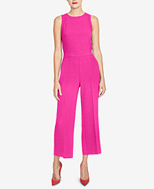 RACHEL Rachel Roy Side-Cutout Jumpsuit, Created for Macy's