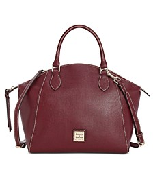 Sydney Saffiano Leather Satchel