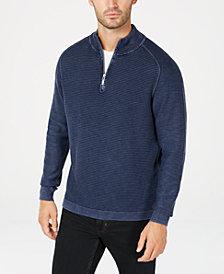 Tommy Bahama Men's Island Tide Quarter-Zip Sweater