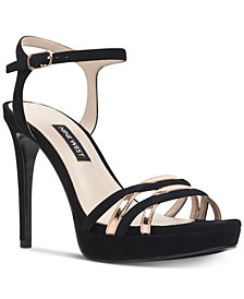 Nine West Quicklime Platform Dress Sandals