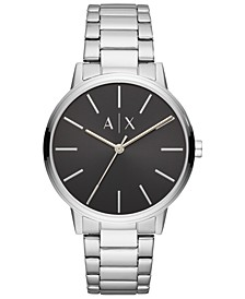 Men's Cayde Stainless Steel Bracelet Watch 42mm