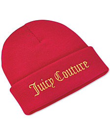 Receive a Complimentary Oui Beanie with any large spray purchase from the Juicy Couture fragrance collection