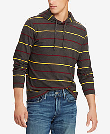 Polo Ralph Lauren Men's Big & Tall Cotton Hooded Long-Sleeve T-Shirt