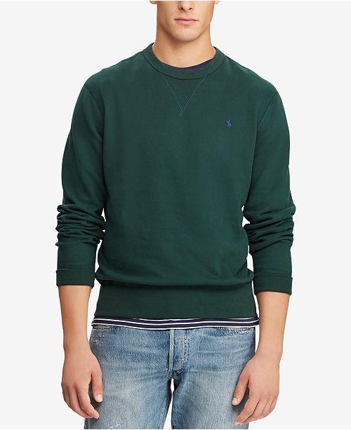 Polo Ralph Lauren Men's Fleece Sweatshirt, Created for Macy's