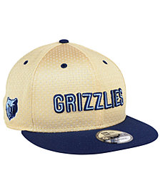 New Era Memphis Grizzlies Champagne 9FIFTY Snapback Cap