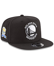 New Era Golden State Warriors Anniversary Patch 9FIFTY Snapback Cap