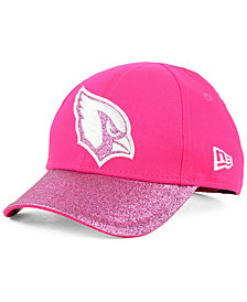 New Era Girls' Arizona Cardinals Shimmer Shine Adjustable Cap