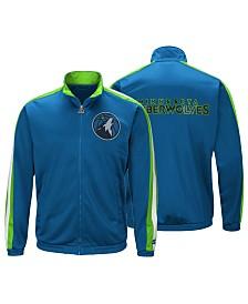 60c83f7c2ca578 G-III Sports Men s Minnesota Timberwolves The Challenger Starter Track  Jacket