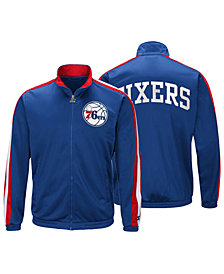 G-III Sports Men's Philadelphia 76ers The Challenger Starter Track Jacket