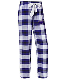 Concepts Sport Women's Washington Huskies Homestretch Flannel Pajama Pants