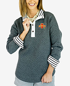 Gameday Couture Women's Iowa State Cyclones Snap Quilted Pullover