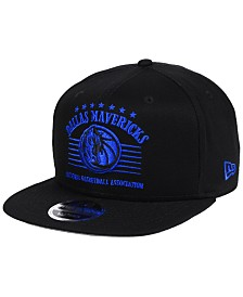 New Era Dallas Mavericks Retro Arch 9FIFTY Snapback Cap