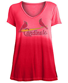 5th & Ocean Women's St. Louis Cardinals Ombre T-Shirt
