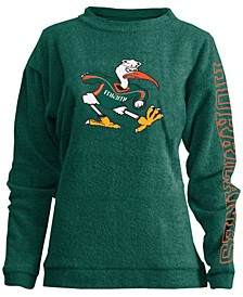Women's Miami Hurricanes Comfy Terry Sweatshirt