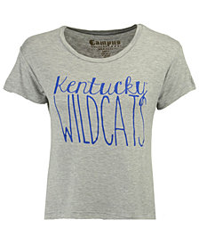Retro Brand Women's Kentucky Wildcats Rayon Vintage T-Shirt