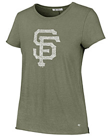 '47 Brand Women's San Francisco Giants Olive Fader T-Shirt