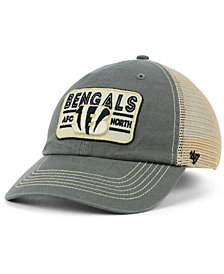 '47 Brand Cincinnati Bengals Sallana Mesh CLEAN UP Cap