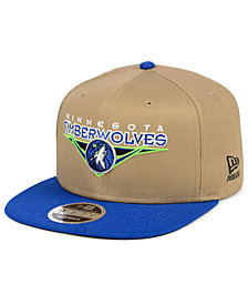 New Era Minnesota Timberwolves Jack Knife 9FIFTY Snapback Cap