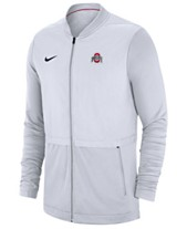 fd345668a21 Nike Men s Ohio State Buckeyes Elite Hybrid Full-Zip Jacket
