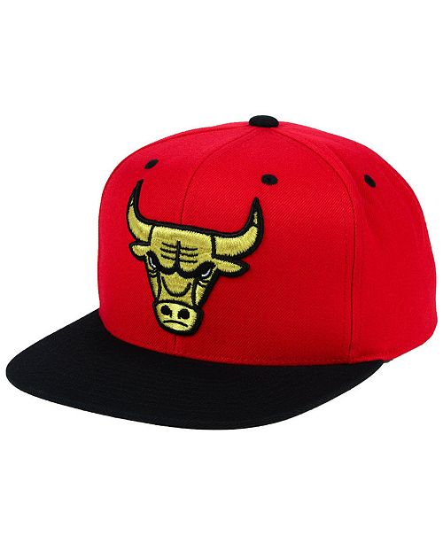 e647c524960 Mitchell   Ness. Chicago Bulls Black   Gold Metallic Snapback Cap. Be the  first to Write a Review. main image ...