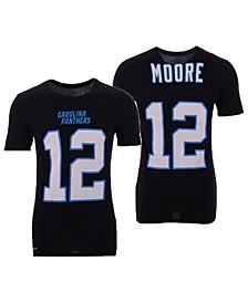 Men's D.J. Moore Carolina Panthers Pride Name and Number Wordmark T-Shirt