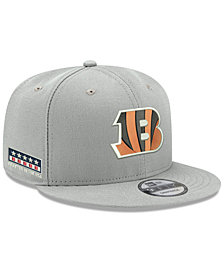 New Era Cincinnati Bengals Crafted in the USA 9FIFTY Snapback Cap