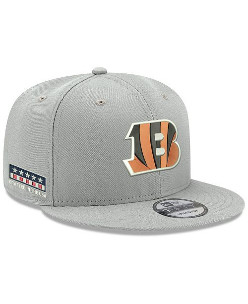 info for 39154 04a82 ... New Era Cincinnati Bengals Crafted in the USA 9FIFTY Snapback Cap ...