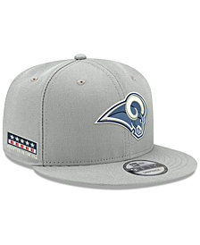 New Era Los Angeles Rams Crafted in the USA 9FIFTY Snapback Cap