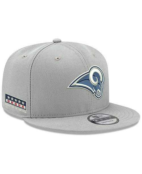 a485cb90517 New Era Los Angeles Rams Crafted in the USA 9FIFTY Snapback Cap ...