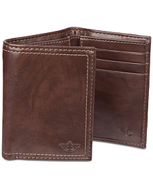 Dockers Men's Tri-Fold RFID Wallet