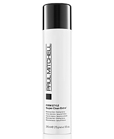 Super Clean Extra Finishing Spray, 9.5-oz., from PUREBEAUTY Salon & Spa