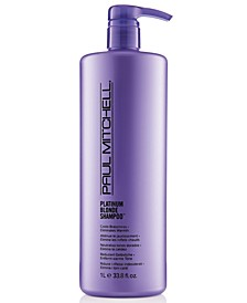 Platinum Blonde Shampoo, 33.8-oz., from PUREBEAUTY Salon & Spa