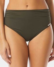 Vince Camuto High-Waisted Bikini Bottoms